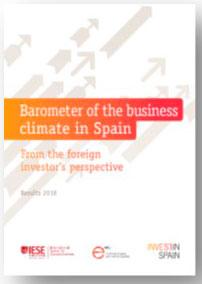 Barometer of Spain Invest in Spain