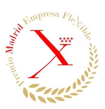 Sello Madrid Empresa Flexible