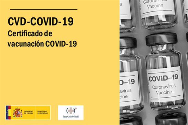 certificado digital Covid 1 julio 2021