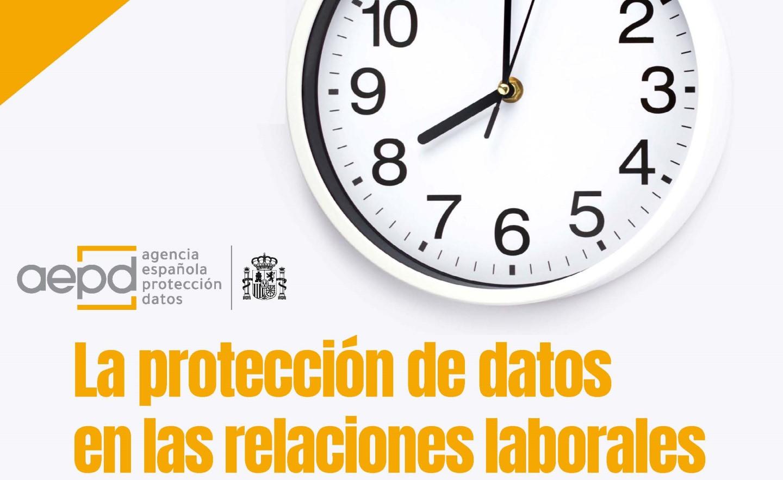 guía protección de datos y relaciones laborales AEPD mayo 2021