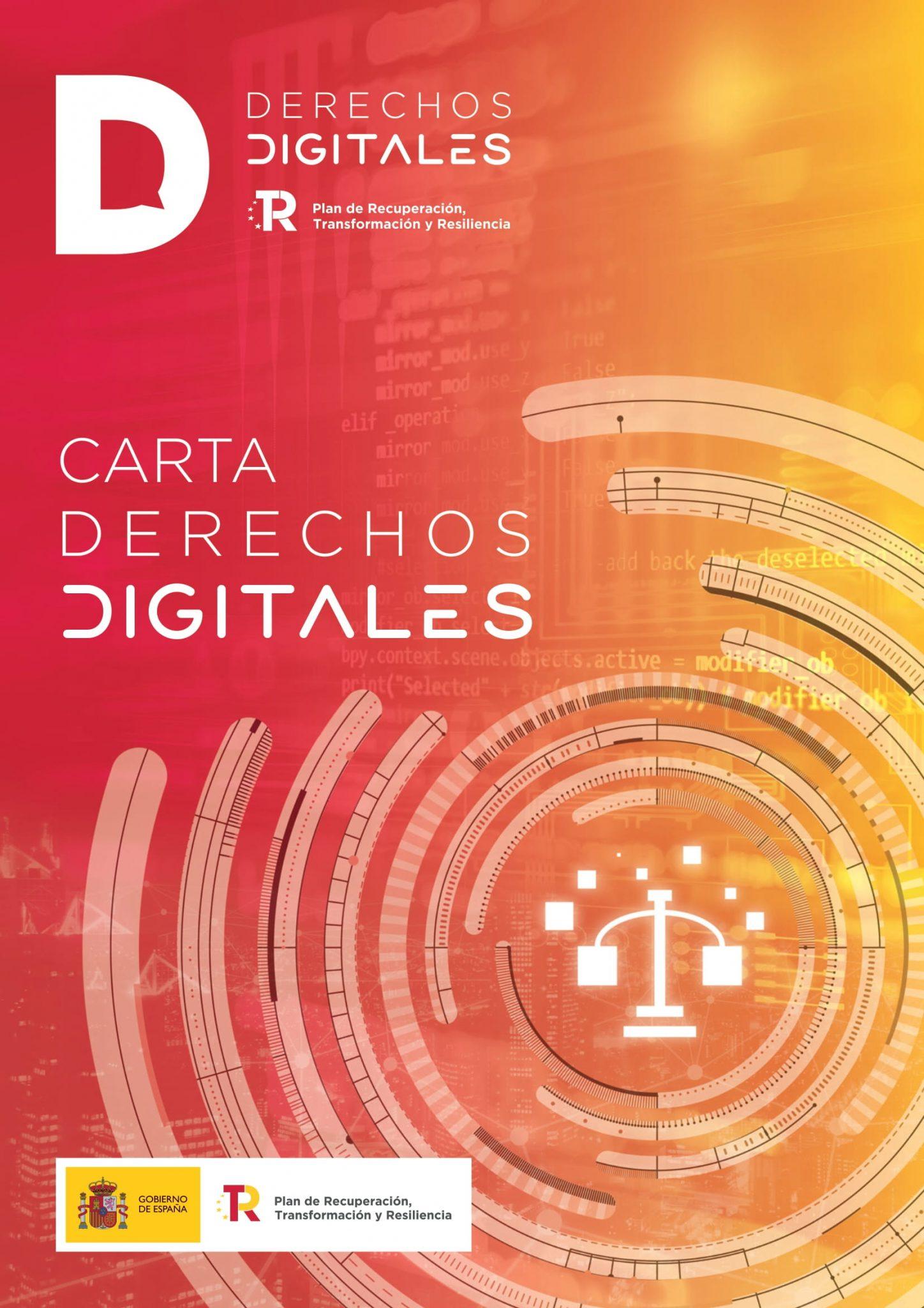 carta de derechos digitales derechos en materia laboral
