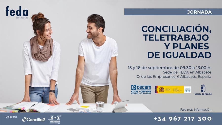 jornada FEDA teletrabajo 15 y 16 de septiembre 2021